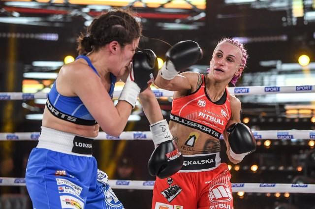 Poznanianka Ewelina Pękalska rozprawiła się z rywalką  z Finlandii w walce o tytuł mistrzyni Europy