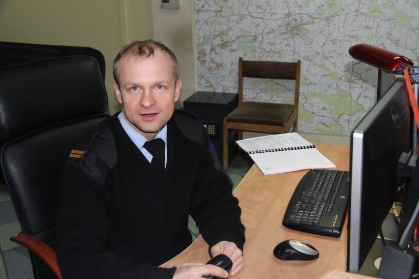 Marcin Purzyński zachował zimną krew i dzięki niemu życie dziecka udało się uratować