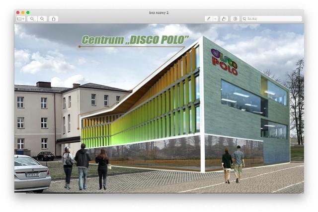 Tak ma wyglądać Centrum Disco Polo w Michałowie