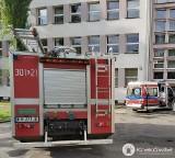 Kraków. Pożar mieszkania w szkole. Nie żyje jedna osoba