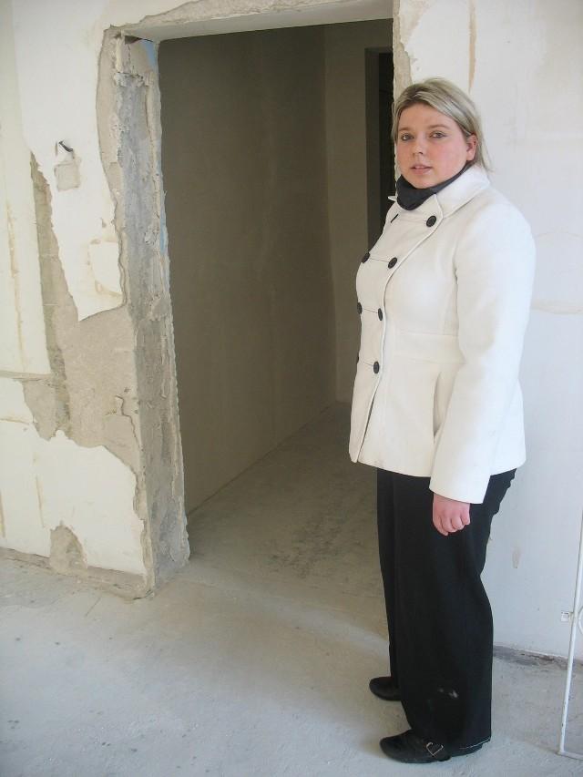 - Włożyłam w ten lokal dużo pracy i pieniędzy - mówi Agnieszka Ostrowska. - Ale klubu tu nie będzie