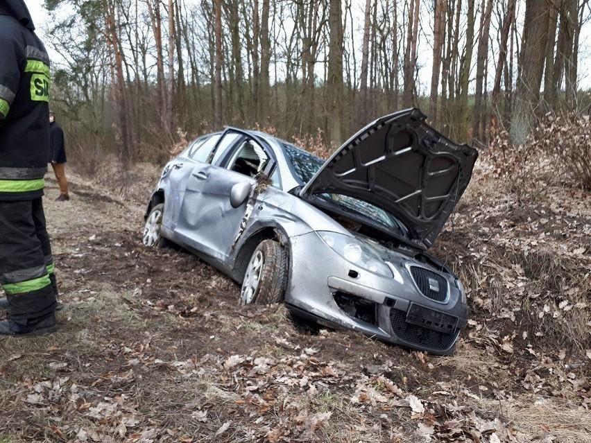 Do wypadku doszło na drodze wojewódzkiej nr 132. 45-letnia...