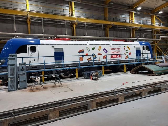 Na trasę wyrusza lokomotywa promująca Produkt Polski