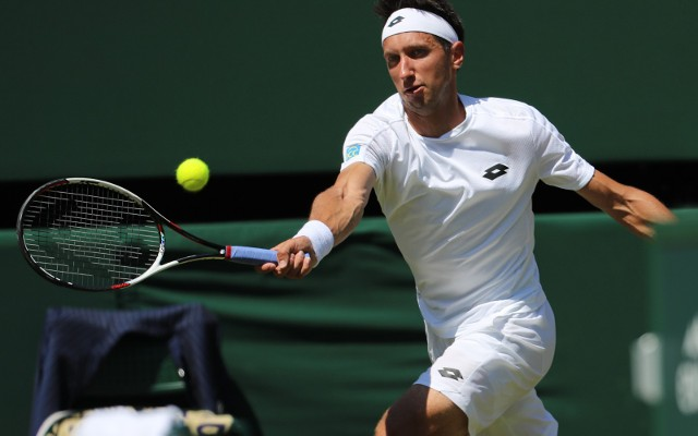 Serhij Stachowski, tu na kortach Wimbledonu