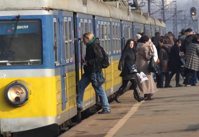 Wypadek na torach SKM w Gdyni