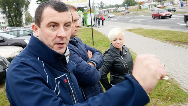 Radosław Korach, Paweł Jersz i Katarzyna Witowska wspólnie przekonują: - Tu jest niebezpiecznie.