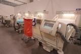 Szpital tymczasowy w Łodzi już gotowy. Może zacząć pracę w ciągu kilku dni ZDJĘCIA