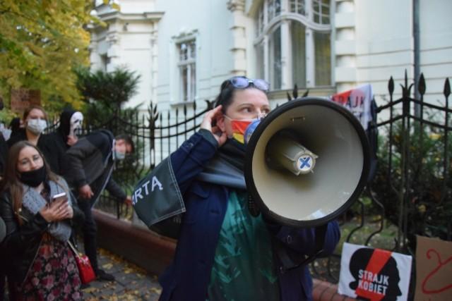 Współorganizatorką Strajku Kobiet w Gorzowie była Monika Drubkowska.
