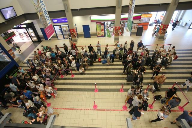19 tys. pasażerów jednego dnia na lotnisku w Pyrzowicach