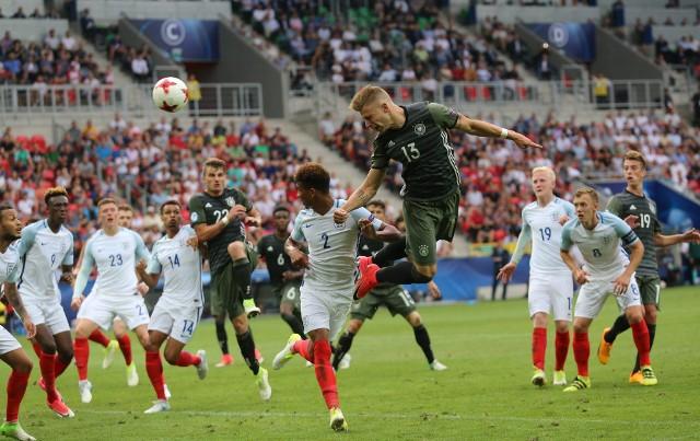 W półfinale Euro U-21 Niemcy wygrali w Tychach z Anglią dopiero po rzutach karnych