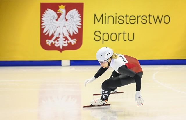 Natalia Maliszewska w sobotę powalczy o medal mistrzostw Europy w short tracku