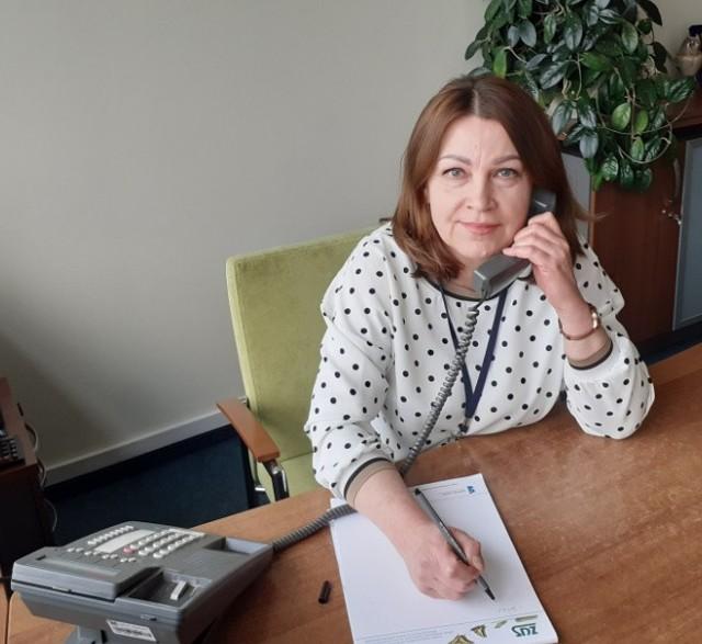 Na pytania odpowiadała Grażyna Mucha, główny specjalista z Wydziału Koordynacji Usług Świadczeń Emerytalno-Rentowych w oddziale ZUS w Bydgoszczy.