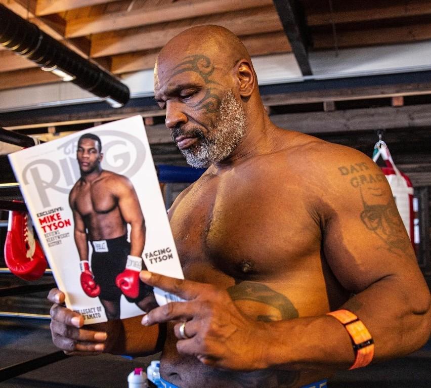 Mike Tyson (50-6, 44 KO) kilka miesięcy temu wznowił...