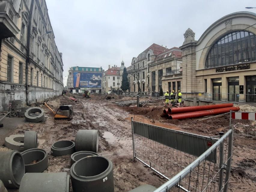 Przebudowa Dworcowej w Katowicach. Tak ulica wyglądała we...