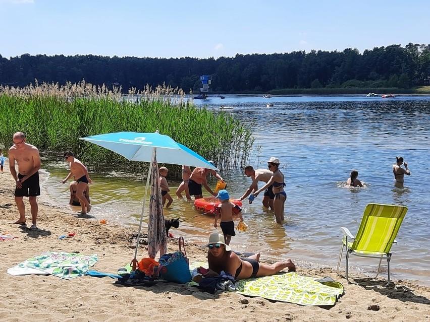 Jeziora Turawskie przeżywają oblężenie.