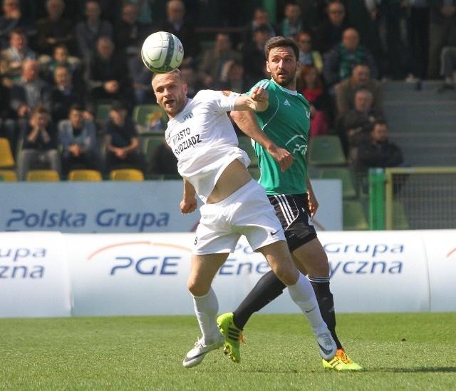 GKS Bełchatów - Olimpia Grudziądz 2:1