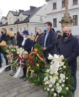 Pogrzeb Marii Koterbskiej. Burmistrz Augustowa Mirosław Karolczuk pożegnał ambasadorkę miasta