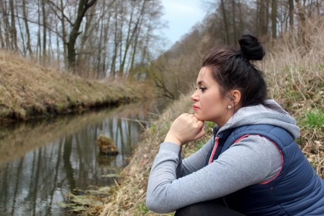 Kinga Ziółkowska z Torunia, pierwszy w Kujawsko-Pomorskiem towarzysz w żałobie i jeden z nielicznych jeszcze w kraju.
