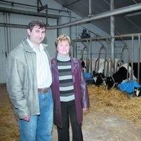 Marzanna i Mirosław Golonko chcieli, by obora była wygodna dla krów i aby było w niej jak najmniej pracy