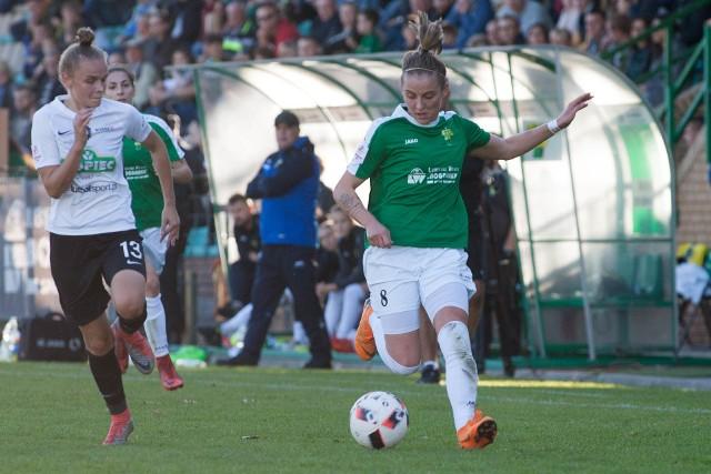 Ewelina Kamczyk w barwach Górnika strzeliła już 101 bramek