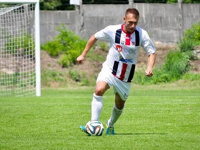 Maciej Michniewicz zdobył bramkę na 3-0 dla Odry Opole.