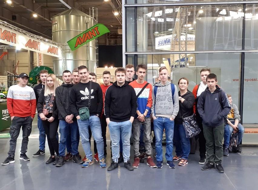 Czerwin. Uczniowie ZSP w Czerwinie byli na targach rolniczych w Poznaniu