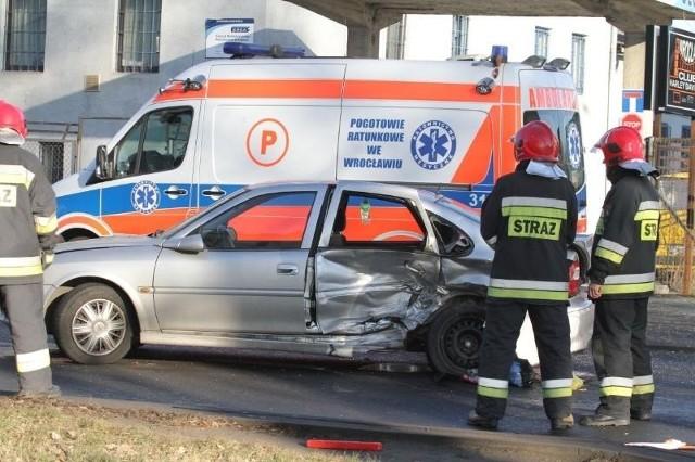 Wypadek na Kosmonautów, Wrocław, 08.02.2014