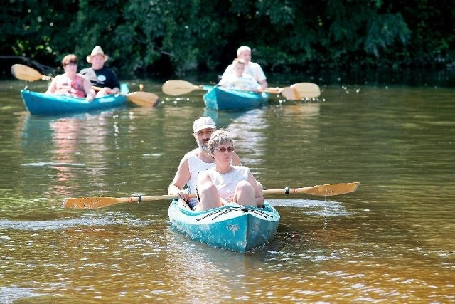 Spływy kajakowe Wdą to jedna z najpopularniejszych form rekreacji w powiecie świeckim