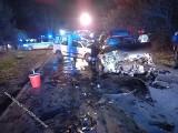 Poważny wypadek w Babicach. Samochody zderzyły się czołowo. ZDJĘCIA