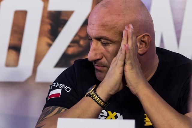 Marcin Najman organizuje galę MMA VIP-2 w Częstochowie