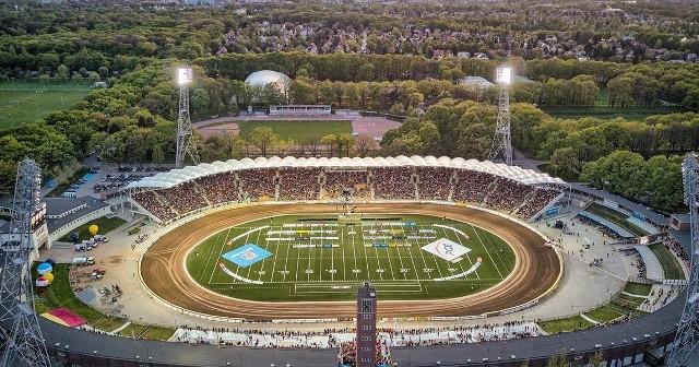 Stadion Olimpijski we Wrocławiu.