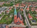 Żary z drona. Zobacz, jak wyglądają wakacyjne zdjęcia miasta z lotu ptaka
