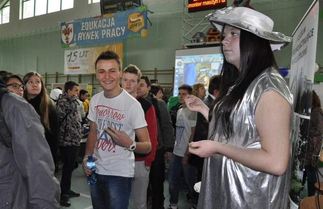 Targi edukacji w Kluczborku.