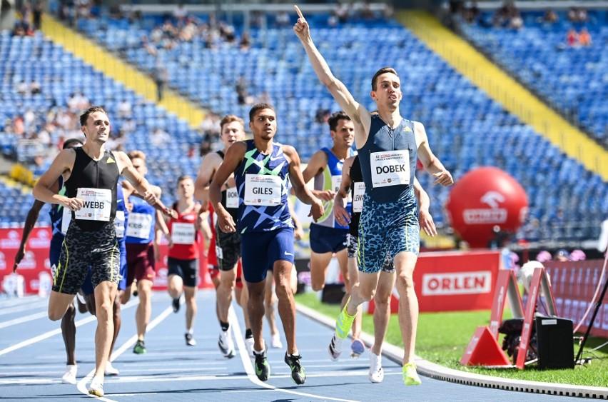 Patryk Dobek we wspaniałym stylu wygrał bieg na 800 metrów