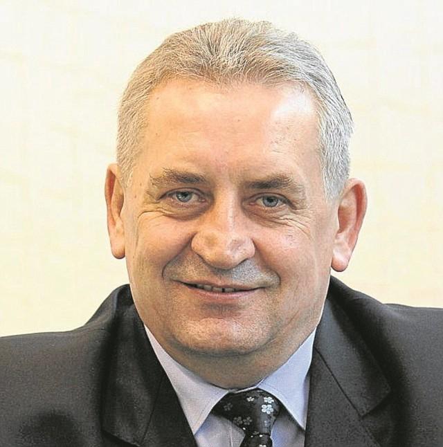 Józef Mozolewski, przewodniczący NSZZ Solidarność Region Podlaski.