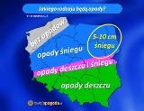 Pogoda na środę. Sprawdź czy w Łodzi spadnie śnieg