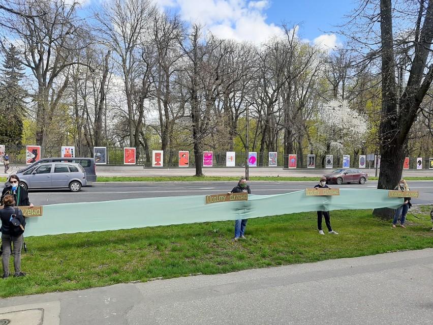 """Przebudowa z protestem. Ekolodzy mówią """"nie"""" usuwaniu drzew rosnących przy Racławickich, Poniatowskiego, Lipowej"""