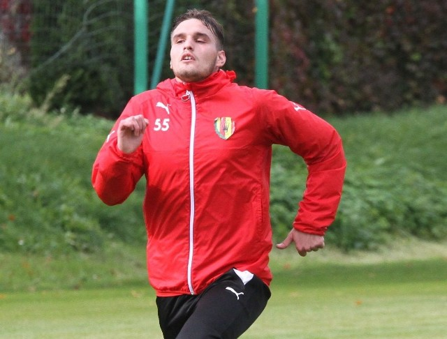Grek Angelos Argyris nie zagrał jesienią nawet w jednym meczu ekstraklasy.