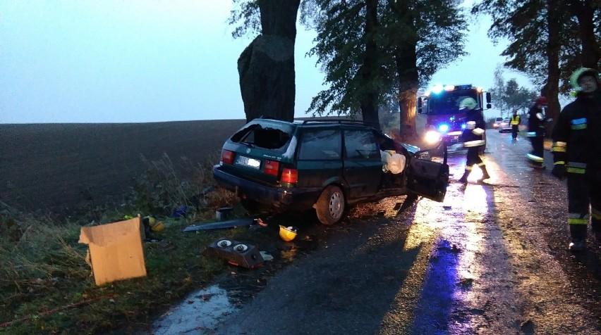 W Ankamatach zderzyły się samochody. Dwie osoby nie żyją