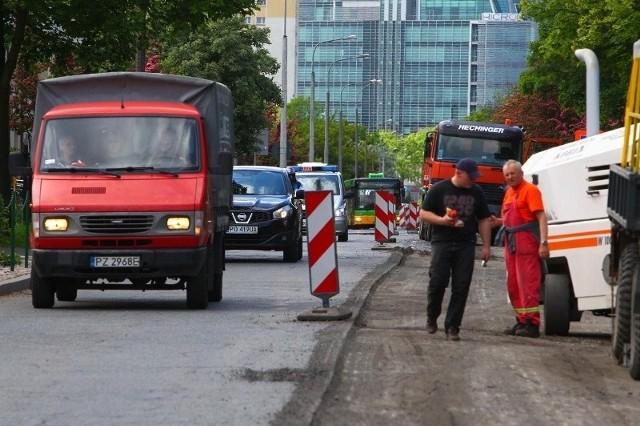 Rozpoczął się remont ul. Marcelińskiej