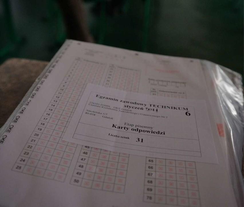 Zobacz prawidłowe odpowiedzi z egzaminu zawodowego....