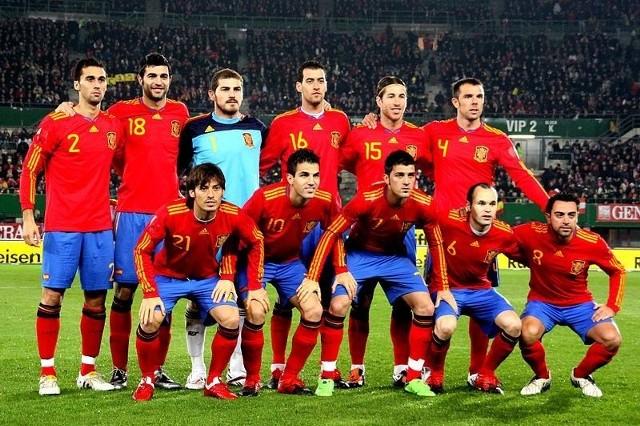 Reprezentacja Hiszpanii zagra towarzysko z Boliwią