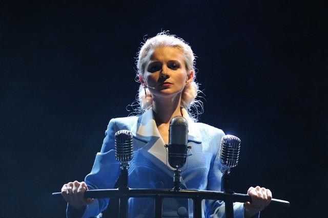 Oksana Hamerska (Teatr Nowy w Poznaniu) wystąpi w roli Evity w niedzielę, 27 września o godzinie 17