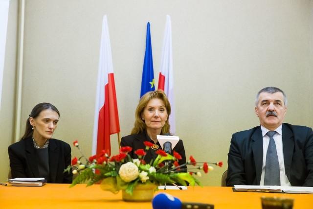 Bożena Dzitkowska, Podlaska Wicekurator Oświaty (w środku)