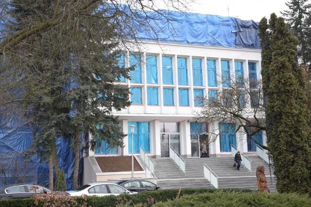 Zielona Góra. Termomodernizacja urzędu marszałkowskiego i starostwa powiatowego w Zielonej Górze - stan prac na 1 lutego 2019
