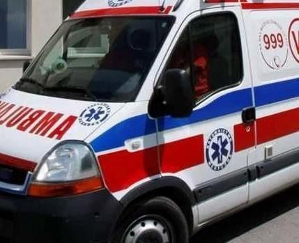 Kierowca busa trafił do szpitala.
