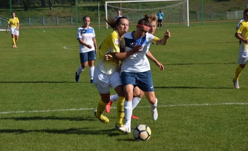 Monika Czerwiak strzeliła dwa gole i wraz z koleżankami z KSPKielce zwyciężyła w Białymstoku aż pięcioma golami