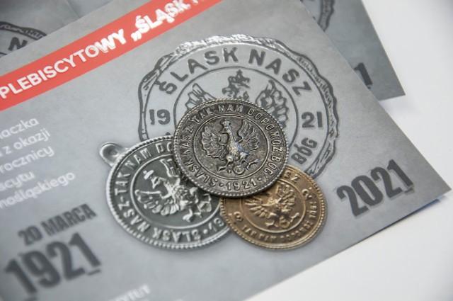 """Replika znaczka plebiscytowego """"Śląsk nasz!"""" ukazała się z okazji 100 rocznicy plebiscytu na Górnym Śląsku"""