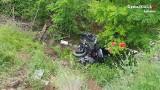 Motocyklista przez pięć dni leżał w wąwozie po wypadku w Kosowie. Uratowali go polscy policjanci, m.in. z Bochni i Myślenic