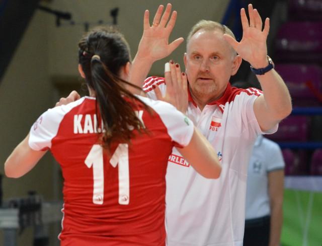 Trener Jacek Nawrocki zakończył pierwszy etap spotkań z kadrowiczkami
